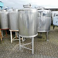 600 Liter Behälter aus V2A