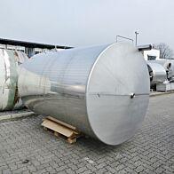 8000 Liter Lagertank aus V2A