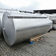 6000 Liter Lagertank aus V2A
