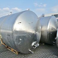 12000 Liter liegender Tank aus V4A