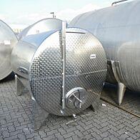 5200 Liter Lagerbehälter aus V2A