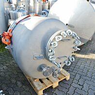1217 Liter Druckbehälter aus V2A