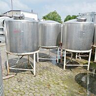 1200 Liter Behälter aus V4A