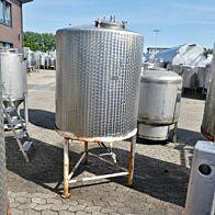 1100 Liter Tank aus V2A