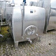 4000 Liter Tank aus V2A