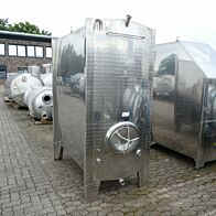 3200 Liter Tank aus V2A