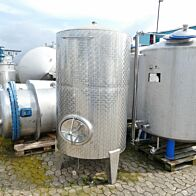 2000 Liter Behälter aus V2A