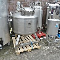 590 Liter Druckbehälter aus V4A