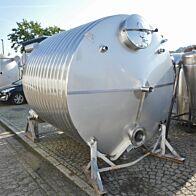 Ungebrauchter 10000 Liter heiz-/kühlbarer Behälter aus V2A