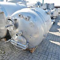 2335 Liter heiz-/kühlbarer Behälter aus V4A