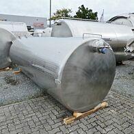 7800 Liter Lagertank aus V2A