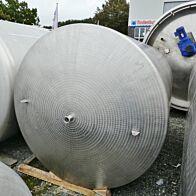 10000 Liter Lagertank aus V2A