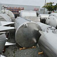 12500 Liter heiz-/kühlbarer Behälter aus V2A