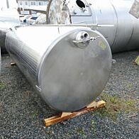 7000 Liter Lagertank aus V2A