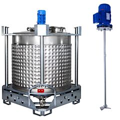 heiz-/kühlbarer Rührwerksbehälter AIT/PropellerSL