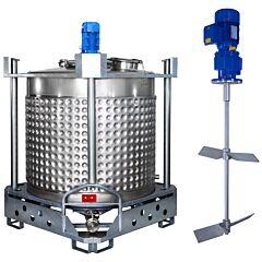 heiz-/kühlbarer Rührwerksbehälter AIT/Kreuzbalken
