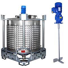 heiz-/kühlbarer Rührwerksbehälter AIT/PropellerLL