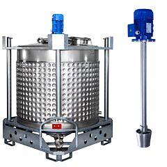 heiz-/kühlbarer Rührwerksbehälter AIT/Leitstrahl