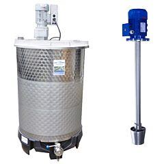 550 Liter heiz-/ kühlbarer Rührwerksbehälter SDE/LS