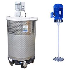 550 Liter Behälter aus V2A
