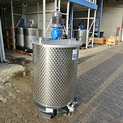 Brand new 550 liter agitator tank with cup stirrer (type SDE)