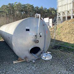 25000 liter horizontal storage tank, Aisi 304