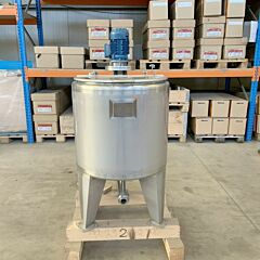 200 Liter Edelstahl Rührwerksbehälter aus V4A