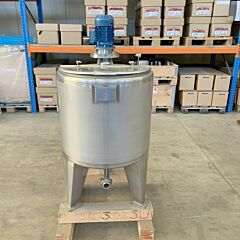 200 Liter Rührbehälter aus V4A