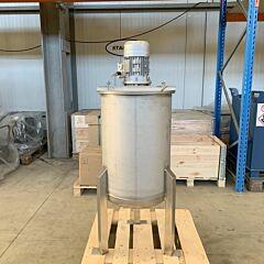 100 Liter Rührbehälter aus V4A