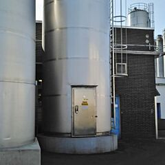 30000 Liter heat-/coolable storage tank, Aisi 304