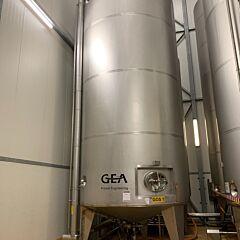 31230 Liter isolierter Behälter aus V2A