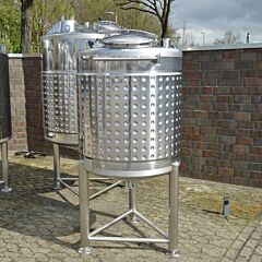 840 Liter Behälter aus V2A