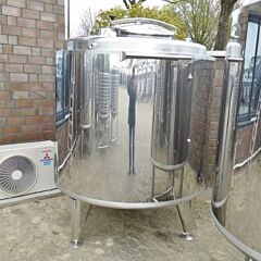 2263 Liter Behälter aus V2A