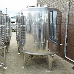 3300 Liter Behälter aus V2A