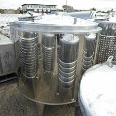 5236 Liter Behälter aus V2A