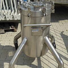 125 Liter Behälter aus V4A