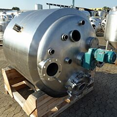 1000 Liter Behälter aus V4A
