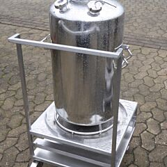 80 Liter Behälter aus V4A