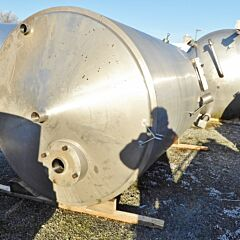 10000 Liter Behälter aus V2A