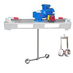IBC Schneckengetrieberührwerk aus V4A
