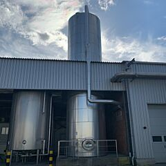84300 Liter isolierter Lagertank aus V4A