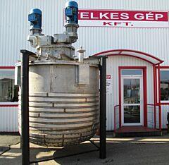 7000 Liter Behälter aus V2A