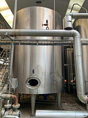 32950 liter mixing tank, AISI304