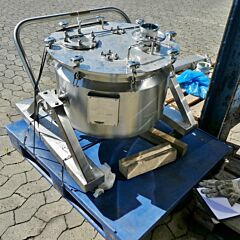 105 Liter Behälter aus V4A