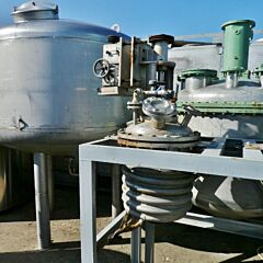 90 Liter Behälter aus V4A