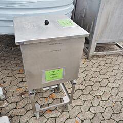 125 Liter Behälter aus V2A