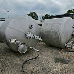 6500 Liter Behälter aus V2A