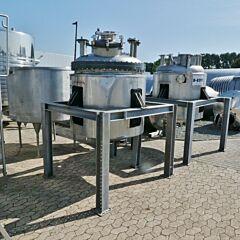 1150 Liter Behälter aus V4A