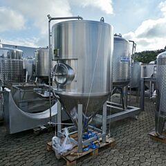 1100 Liter Behälter aus V2A