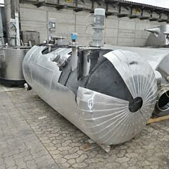 4000 Liter Behälter aus V2A